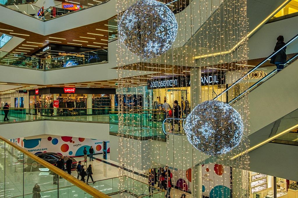 Торговые центры в Тбилиси