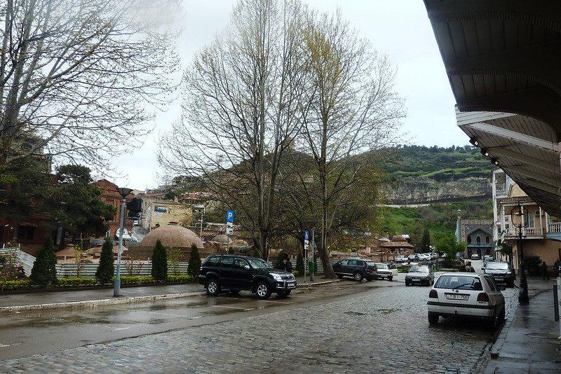 Как доехать до Абанотубани Тбилиси