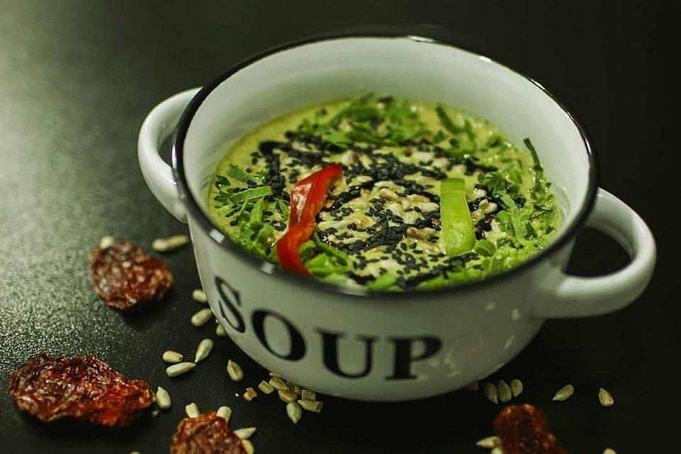 Здоровое питание в Тбилиси - кафе Уцхо в Тбилиси