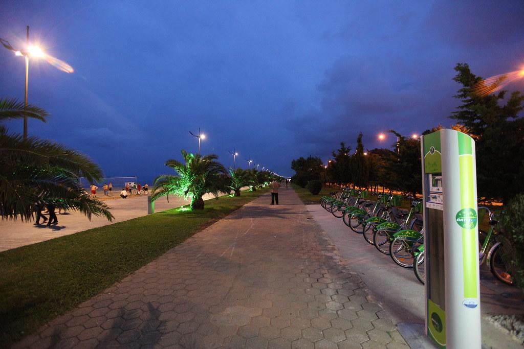 Прокат велосипеда в Батуми