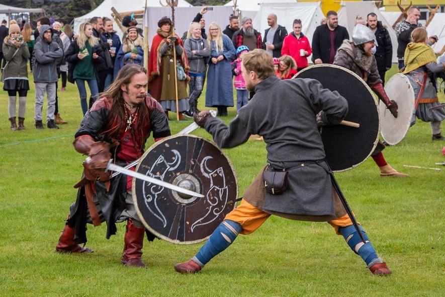 Исторический фестиваль викингов в Исландии