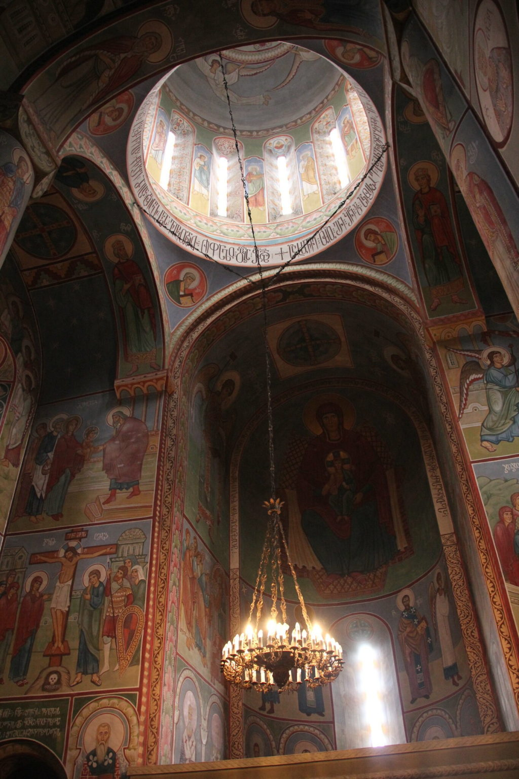 Ц ерковь Святого Николая в крепости Нарикала Тбилиси