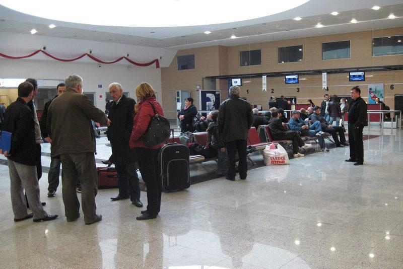 Зал аэропорта Батуми