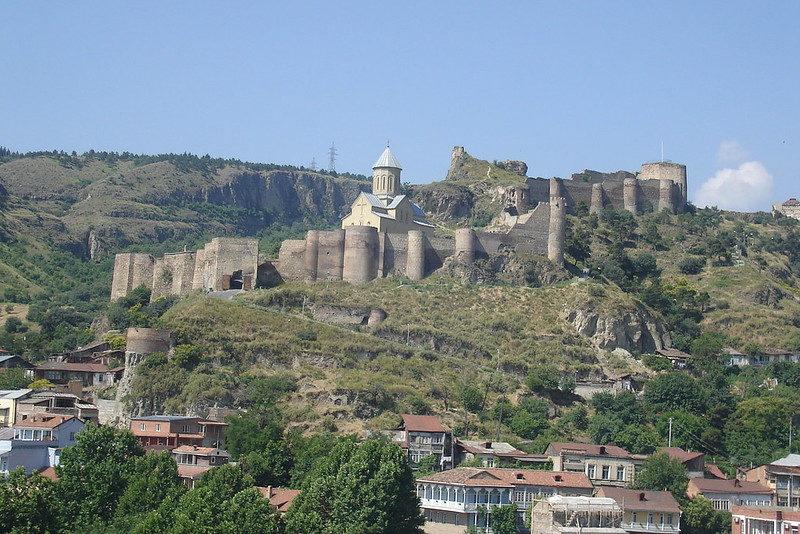 Что посетить в Тбилиси - Крепость Нарикала