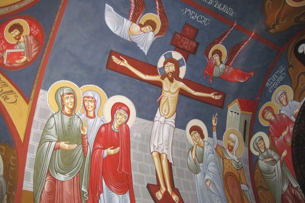 Церковь на горе Мтацминда Тбилиси