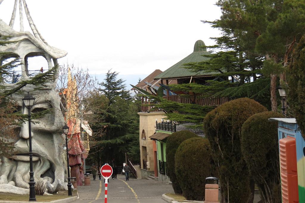 Парк Бомбора в Тбилиси