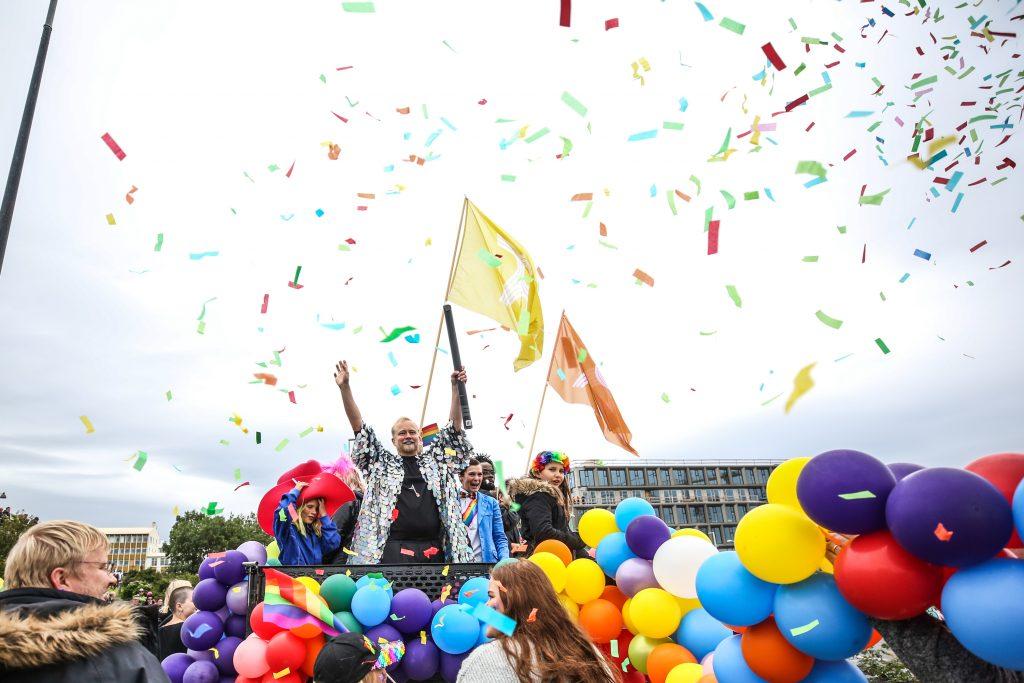В Рейкьявике проходит гей-парад