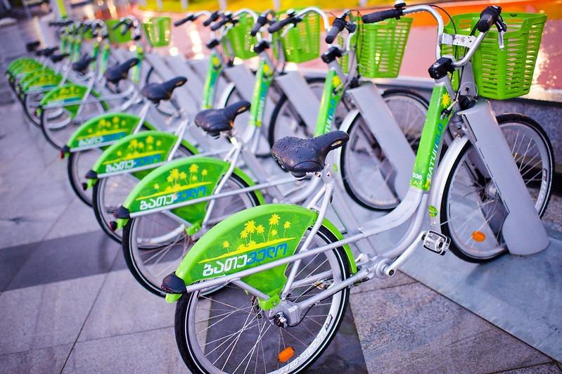 Прокат велосипедов в Батуми