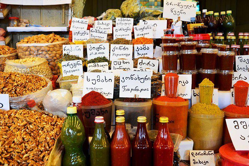 Дезертирский Боржомский рынок в Тбилиси