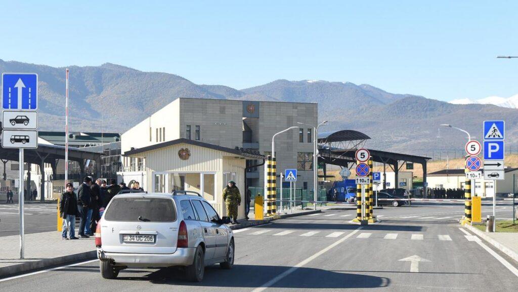 В Грузию на своем авто - КПП Баграташен – Садахло