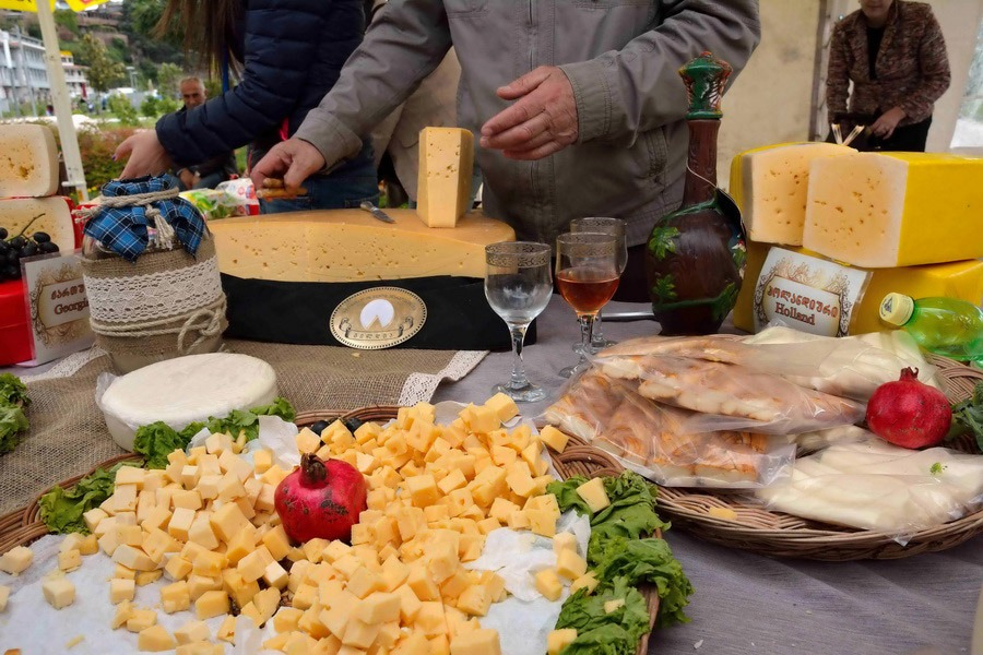 Что посетить в Грузии - Фестиваль сыра в Грузии