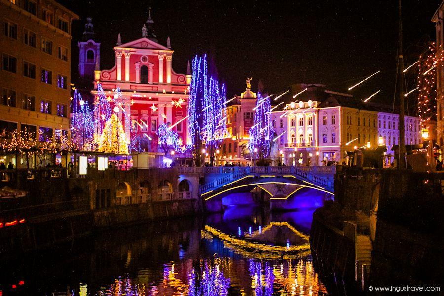 Где в Словении отпраздновать Новый год и Рождество