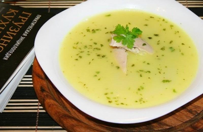 Мясные блюда Грузии - грузинский суп Чихиртма