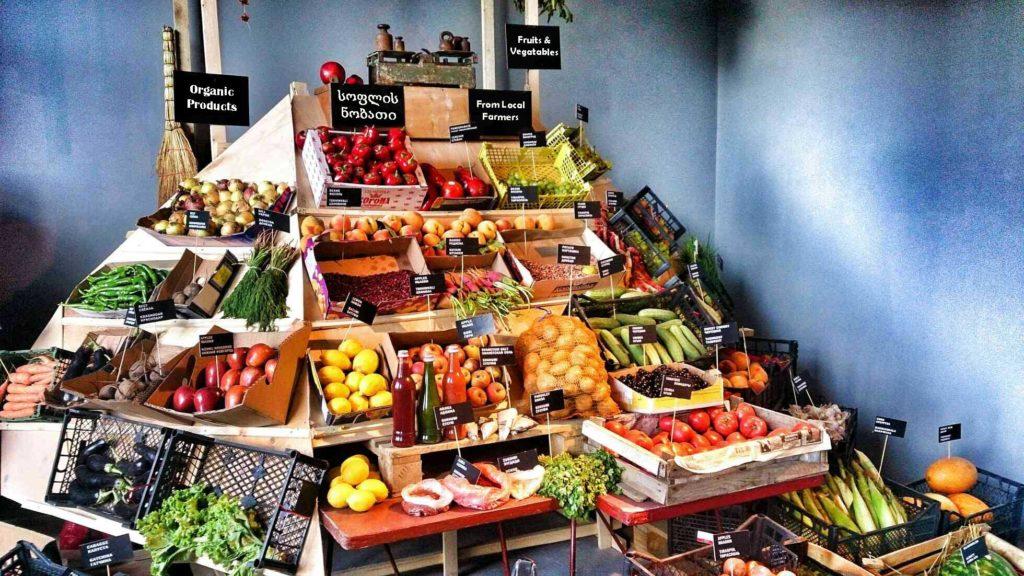 Центральный продуктовый рынок в Батуми