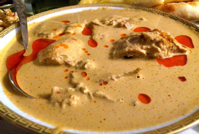 Грузинский соус сациви к мясу