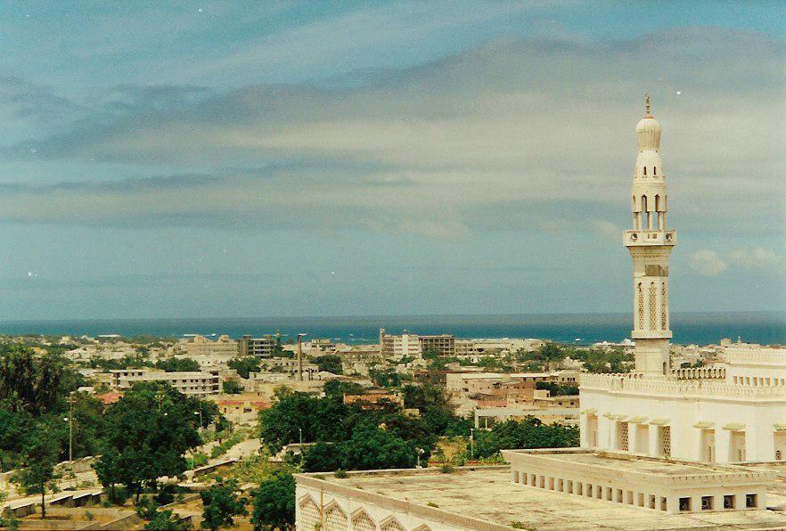 Безопасность в Сомали - столица Сомали Могадишо