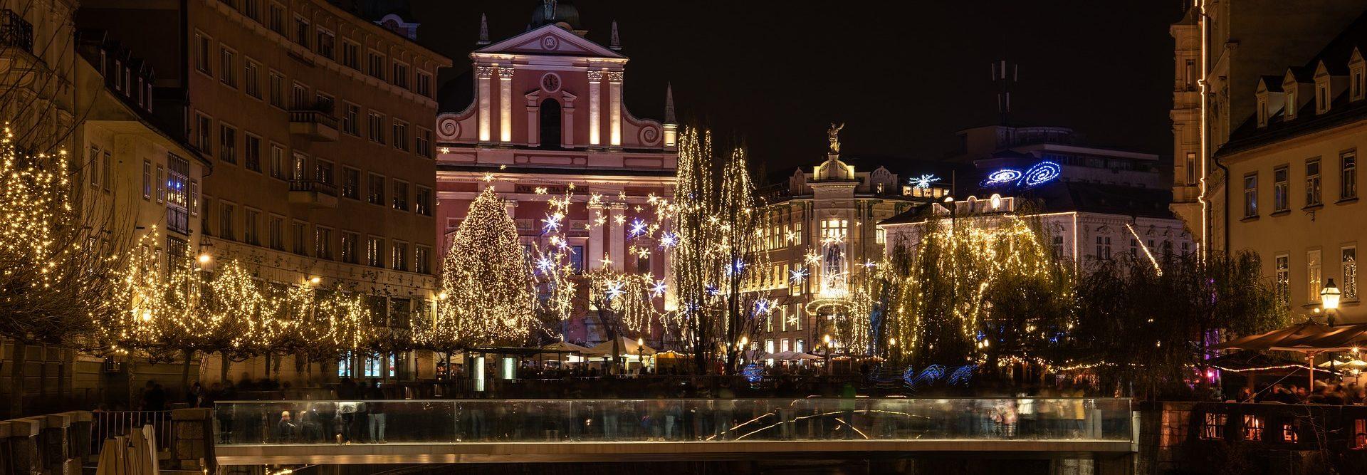 Новый год и Рождество в Любляна Словения