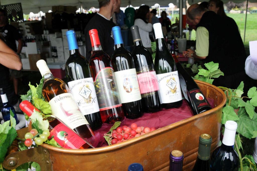 Фестиваль молодого вина в Тбилиси Грузия