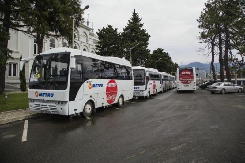 Автобусы Грузии - автобус Metro Georgia