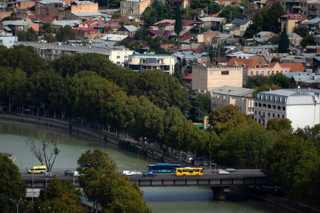 Международный и междугородный общественный транспорт Грузии