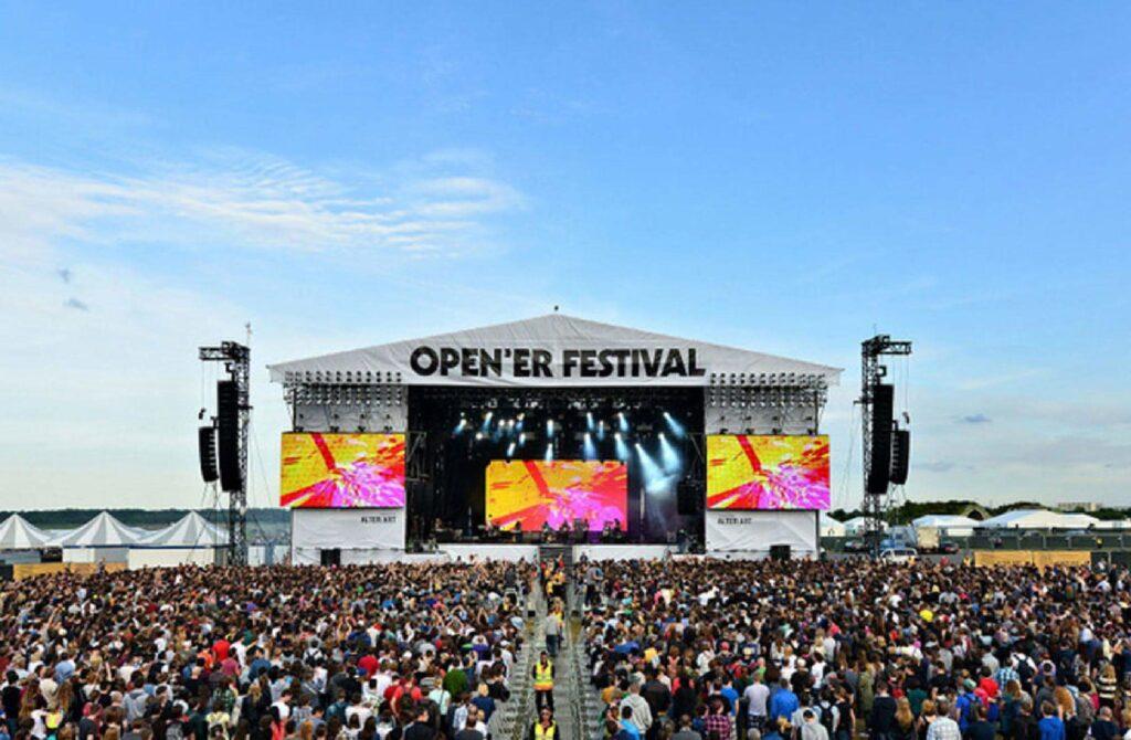 Музыкальный фестиваль Open`er festival в Польше