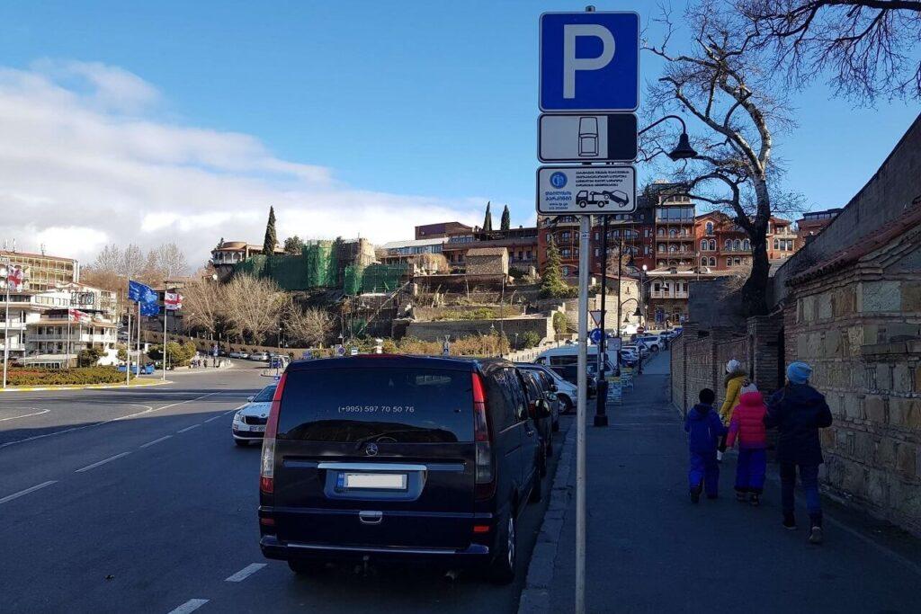 ПДД и парковка в Грузии