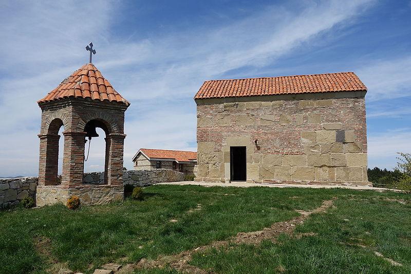 Монастырь Уздо  достопримечательность недалеко от Тбилиси