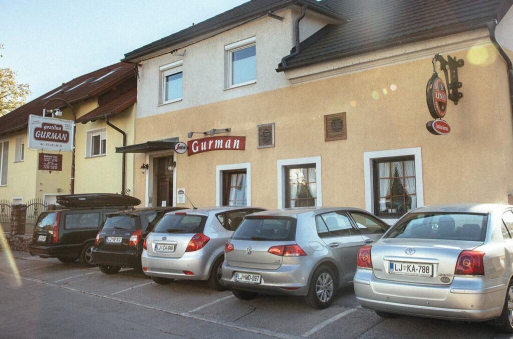 Питание в Любляне —ресторан Gostilna Gurman