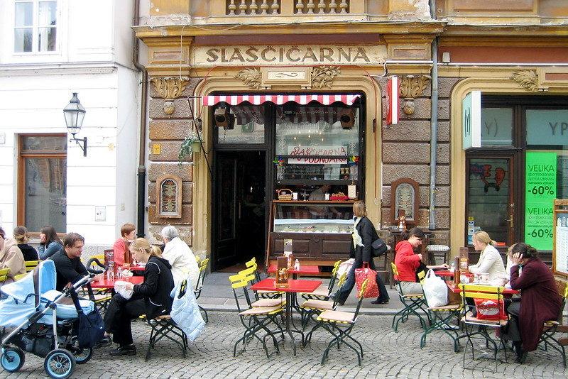 Что попробовать в Словении - мороженное в Словении
