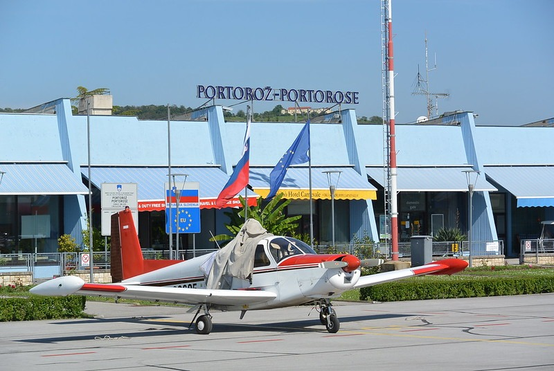 Аэропорт в Словении