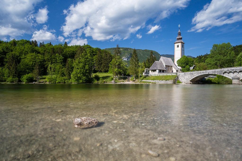 Озеро Бохинь в Словении