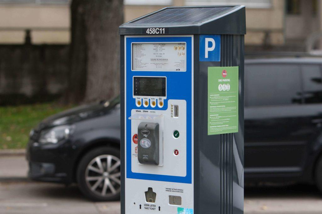 Как оплатить парковку - парковочные автоматы Любляна