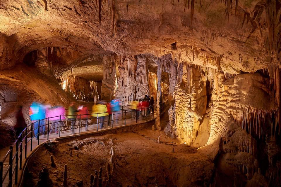 Пещера Постойна, Словения