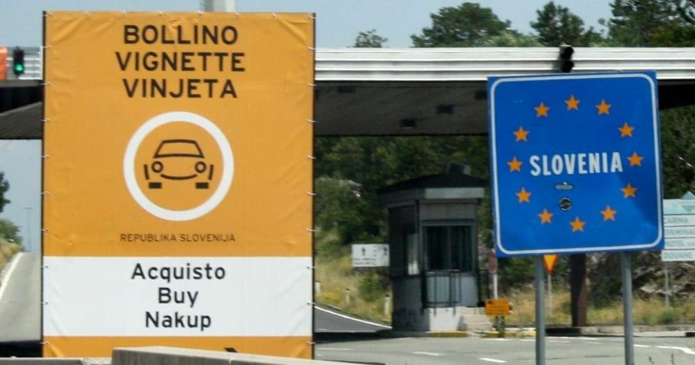 ПДД в Словении - оплата платных дорог
