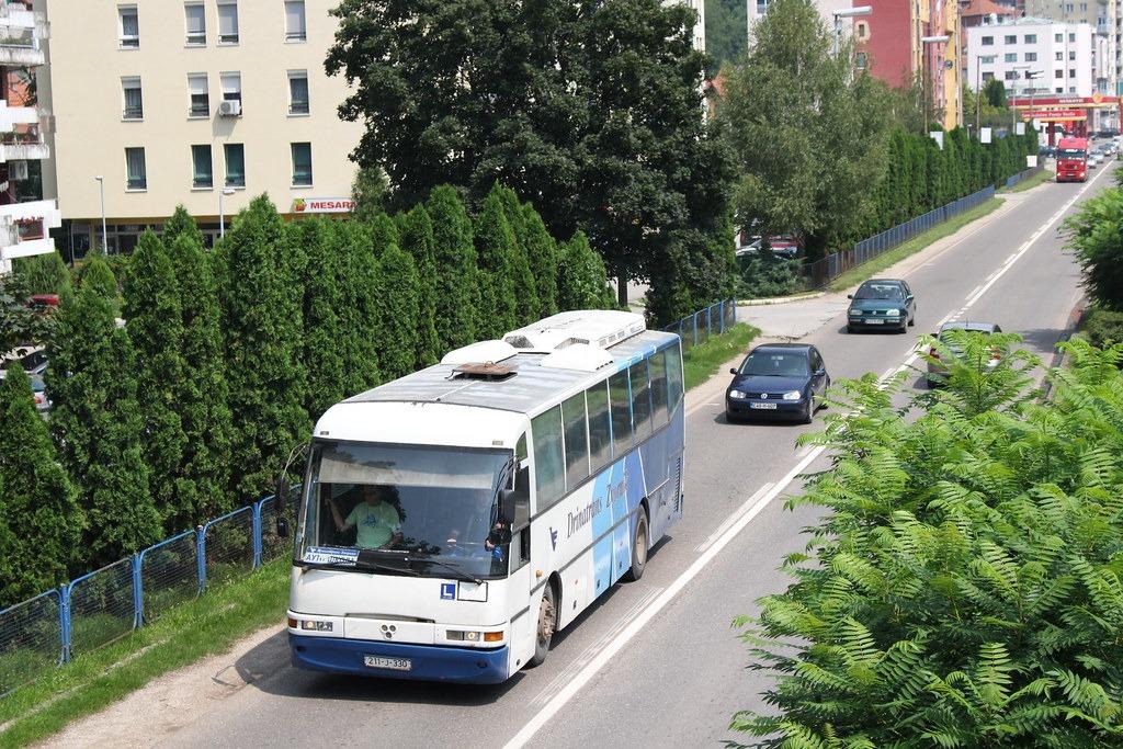 Проезд в общественном транспорте в Словении