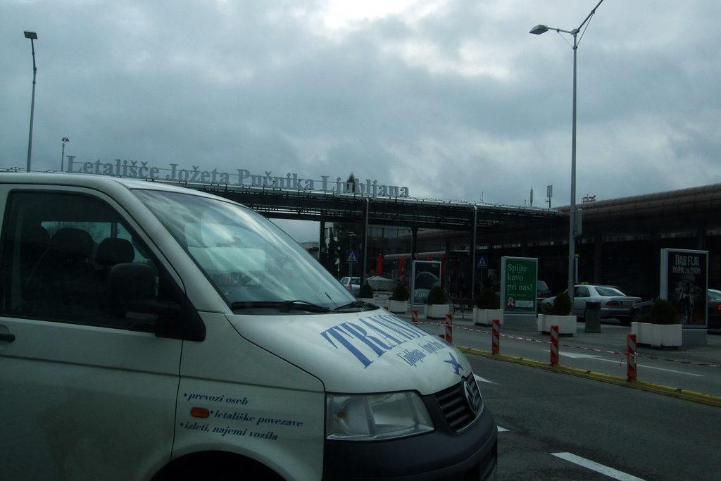 Микроавтобусы аэропорта Любляны