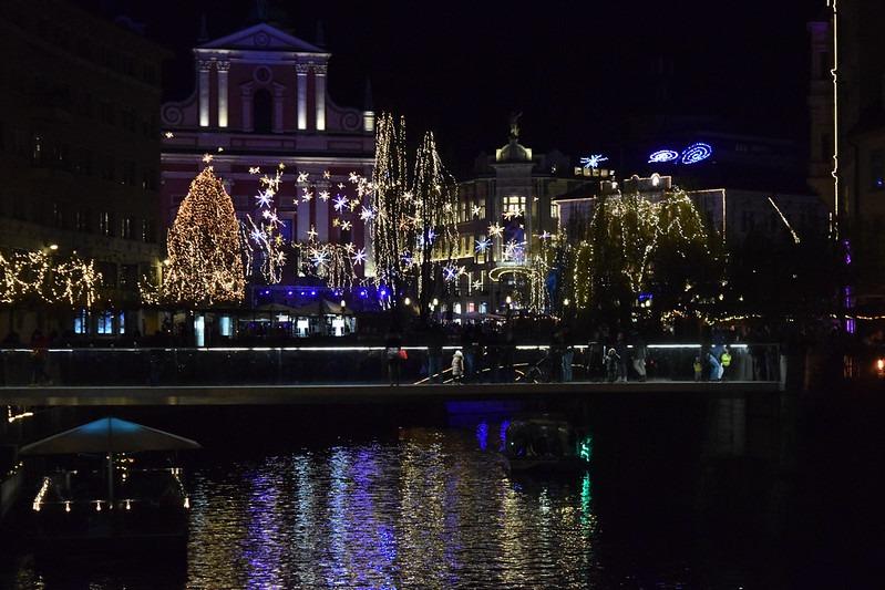 Погода в Любляне зимой