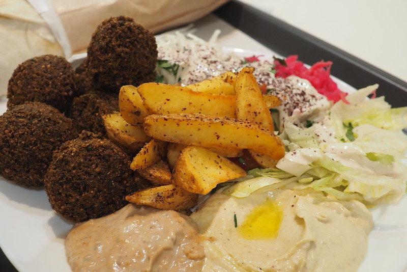 Вегетарианская еда в Любляне