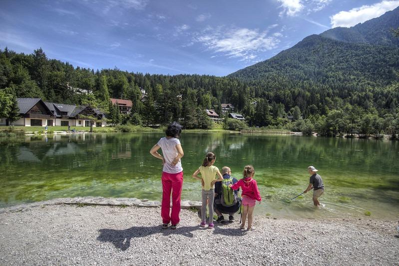 Деревня Краньська-Гора - отличное место для отдыха с детьми в Словении