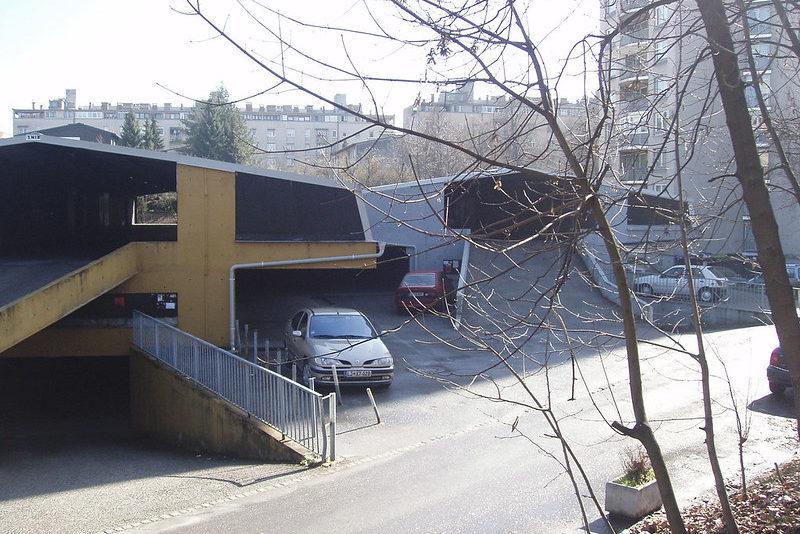Парковки в Любляне