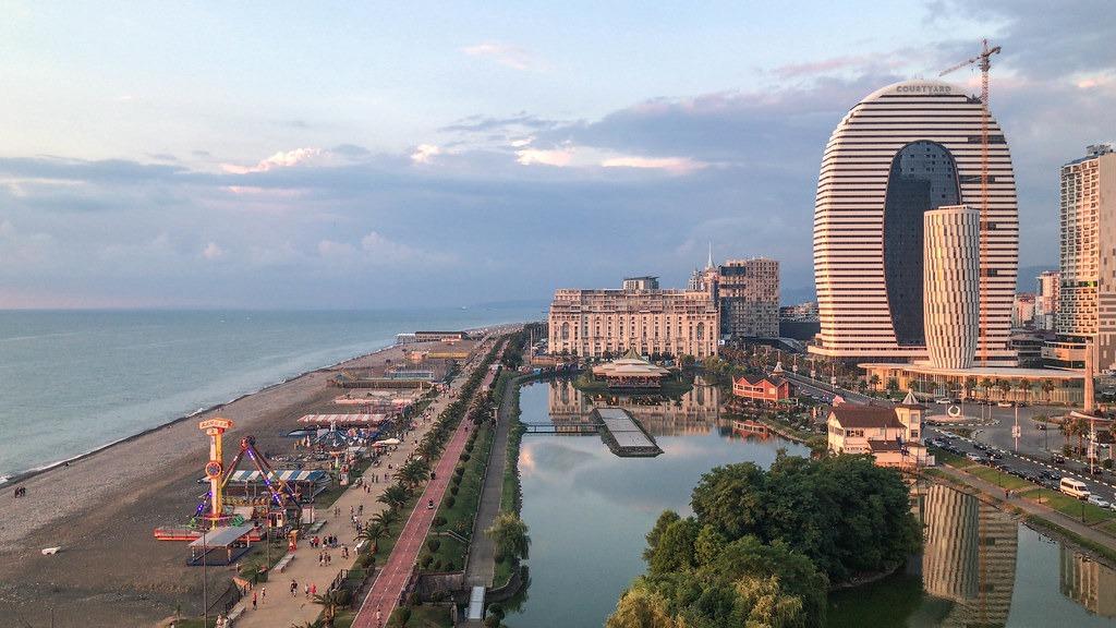 Городской пляж Батуми