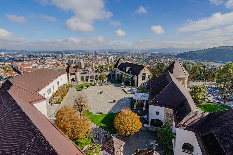 Октябрь в Любляне