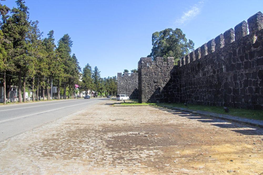 Gonio Fortress - достопримечательность недалеко от Батуми