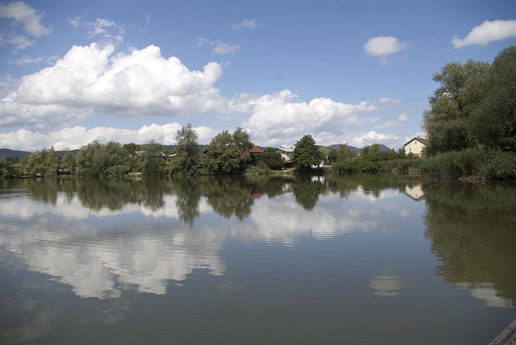Любляна: пруд Косешски баер
