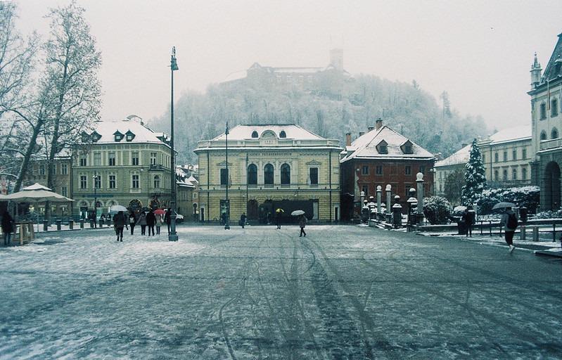 Погода в январе в Любляне