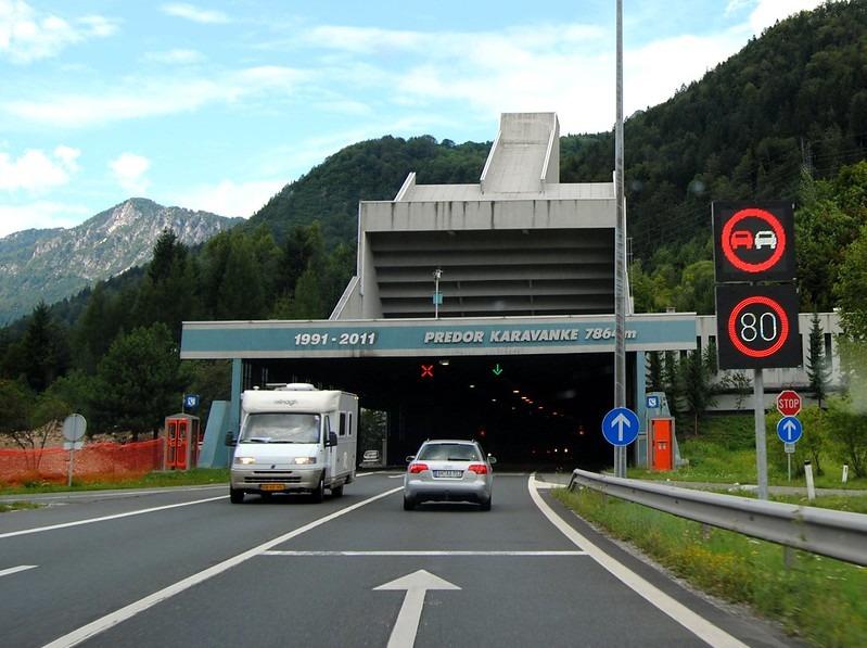 Тоннель Karawanken Словения