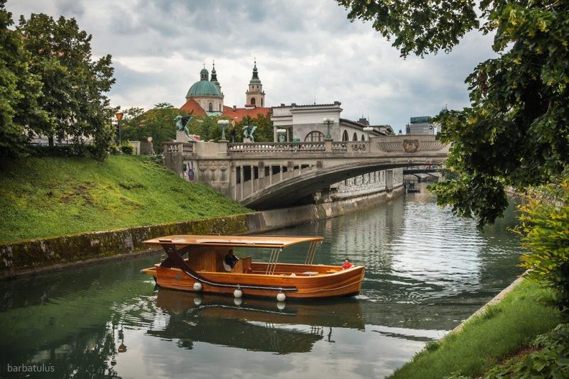 Июль в Любляне