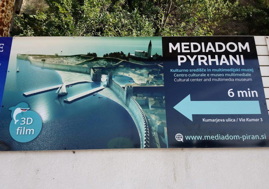 Что посетить с детьми в Словении - «Медиадом» в Пиране