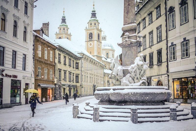 Ферваль в Любляне