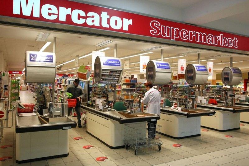 Супермаркеты в Словении